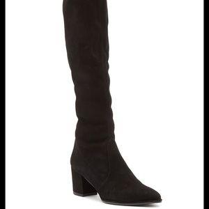 Stuart Weitzman Knee High Suede Boots